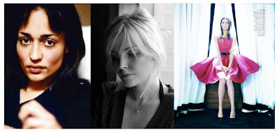 zadie smith, sophie dahl, and plum sykes