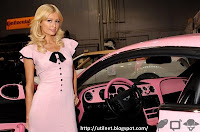 Galeria de fotos - Paris Hilton - carro Bentley 9