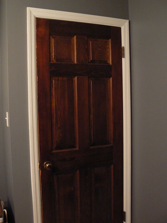 What to do with dark molding on Pinterest | White Trim ...