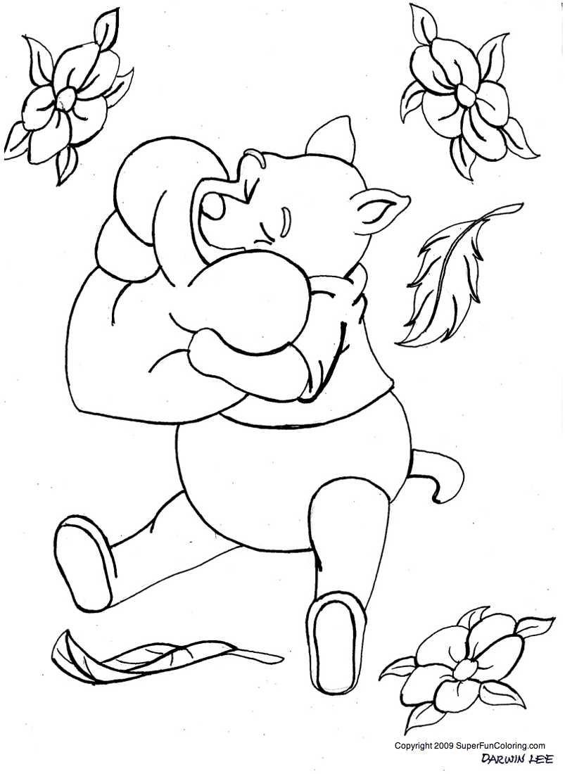 Winnie The Pooh Disney Coloring Pages