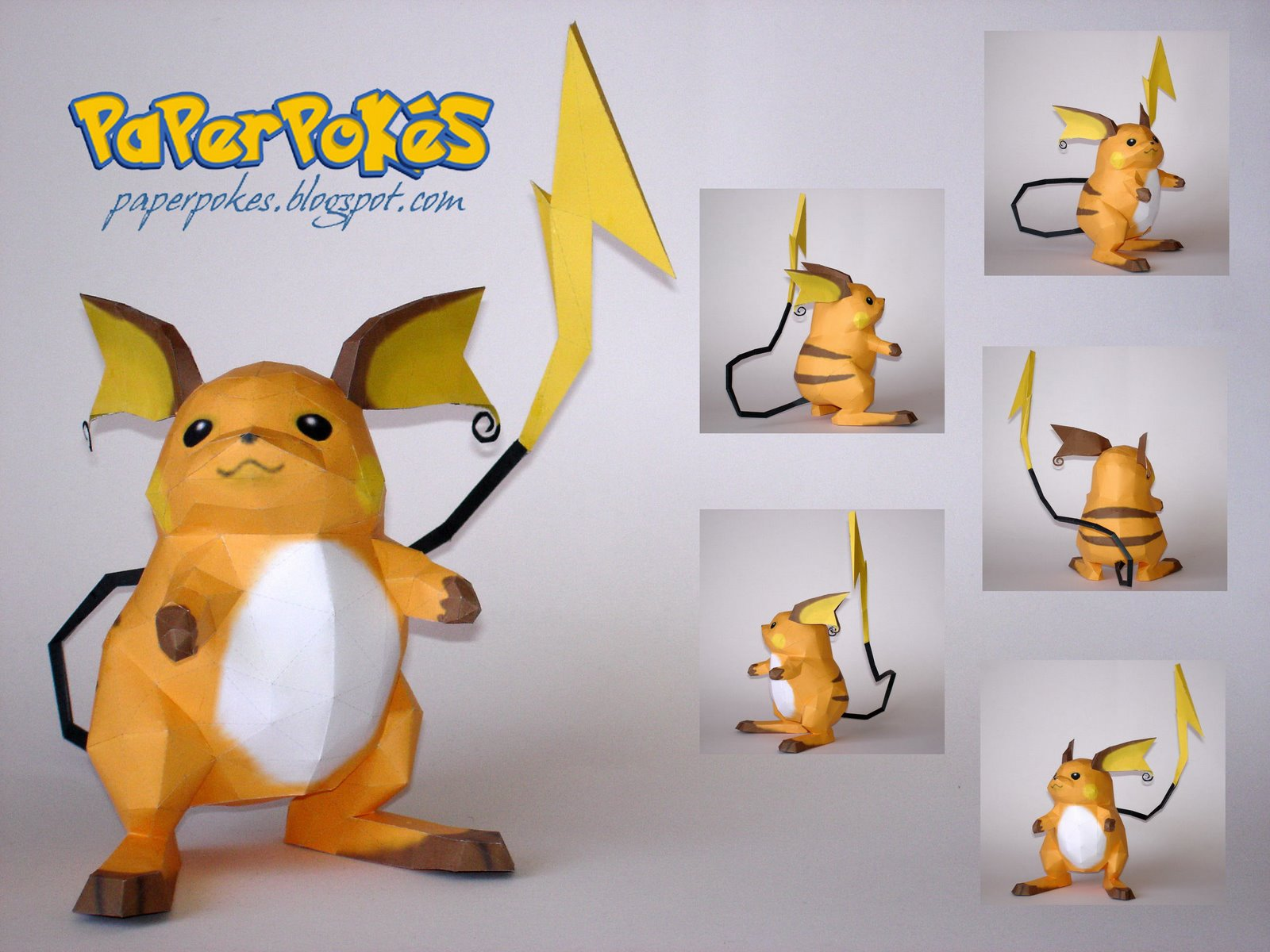 Pokemon papercraft - Pokemon Voltage - 3DJuegos - photo#18