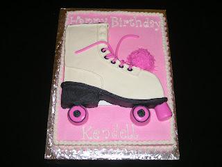 Dee Licious Cakes Roller Skate Cake