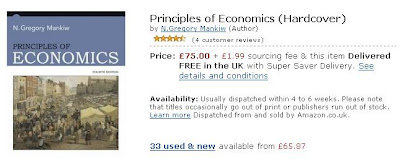 Mankiw Principle of Economics 4th ed - Amazon.co.uk (UK)