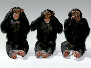 The Three Monkeys: See No Evil, Hear No Evil, Speak No Evil