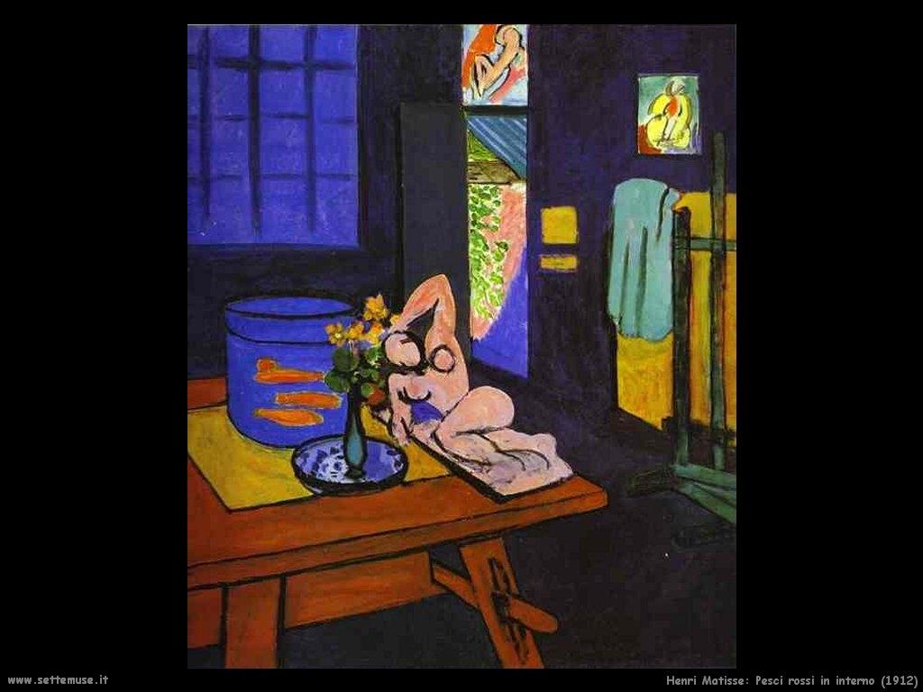 La Camera Rossa Matisse
