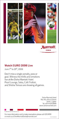 Football at the Marriot
