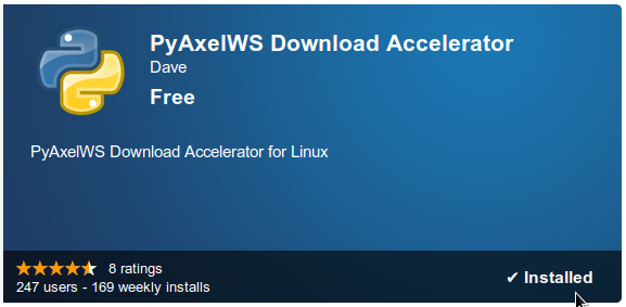 Finally a Download Accelerator for Linux that Works with Chromium