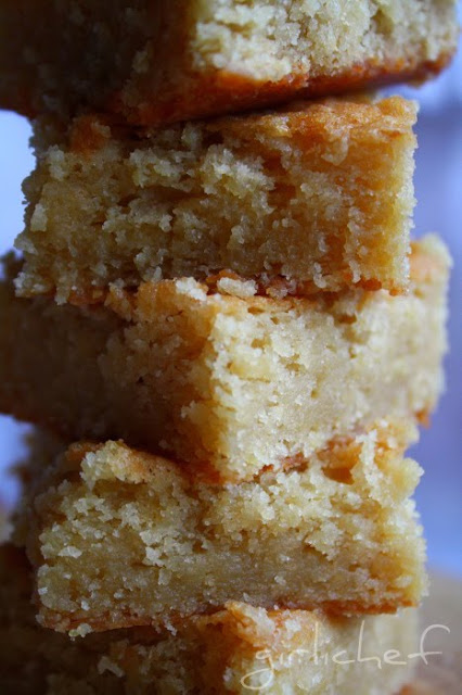 Lemon Mascarpone Blondies<i>...and only 3 months later.</i>