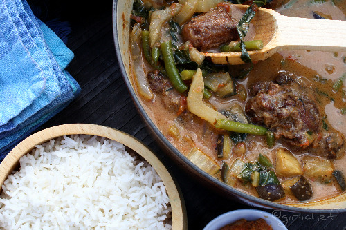 Kare Kare (a traditional Filipino dish)