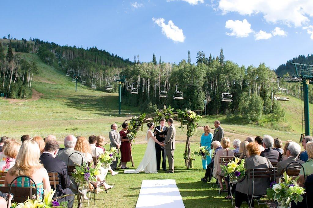 Devon and Josh's Deer Valley Wedding | Lindsey Hale ...
