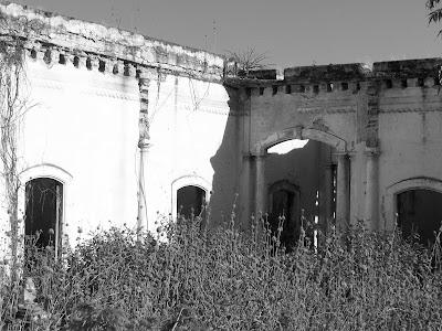 Patio de la antigua Hacienda de San José de Gracia