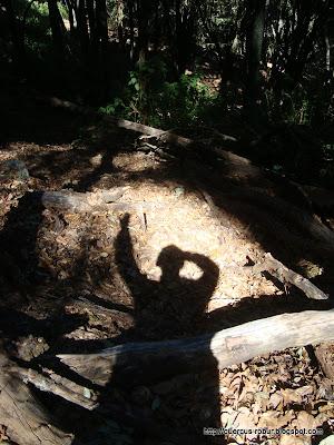 Mi sombra en Cerro Viejo