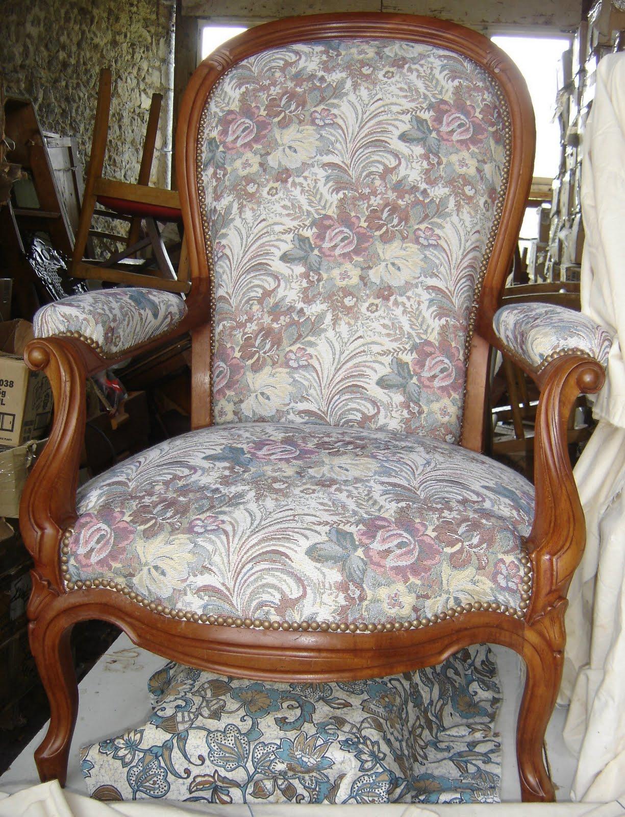 atelier du baron fauteuil voltaire acajou. Black Bedroom Furniture Sets. Home Design Ideas