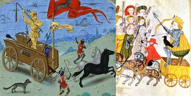 chariot venus tarot