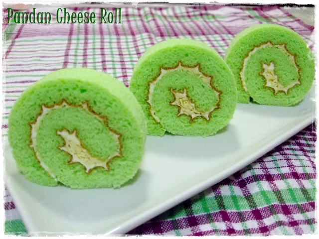 Tested Tasted Pandan Cheese Roll