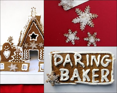 5 COMING HOME FOR THE HOLIDAYS:GINGERBREAD HOUSE WITH DARING BAKERS