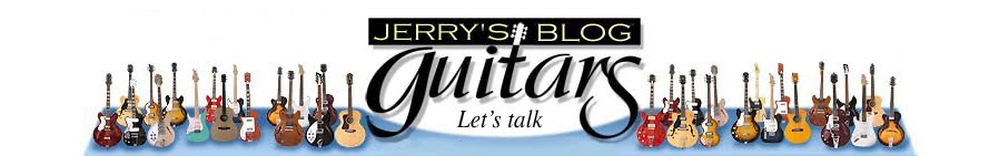 Jerry's Lefty Guitars newest guitar arrivals. Updated weekly!