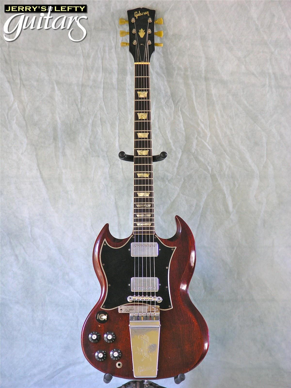 jerry 39 s lefty guitars newest guitar arrivals updated weekly gibson sg 1969 left handed 1 9 11. Black Bedroom Furniture Sets. Home Design Ideas