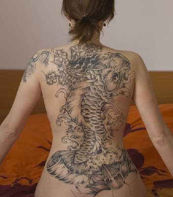Male pattern boldness tattoo you for Hot female back tattoos