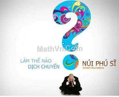 Lam the nao dich chuyen nui phu si - tra loi cac cau phong van cua microsoft