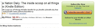 Did You Know You Can Read Kindle Nation Daily and Other Kindle Blogs with Your Kindle for PC App?