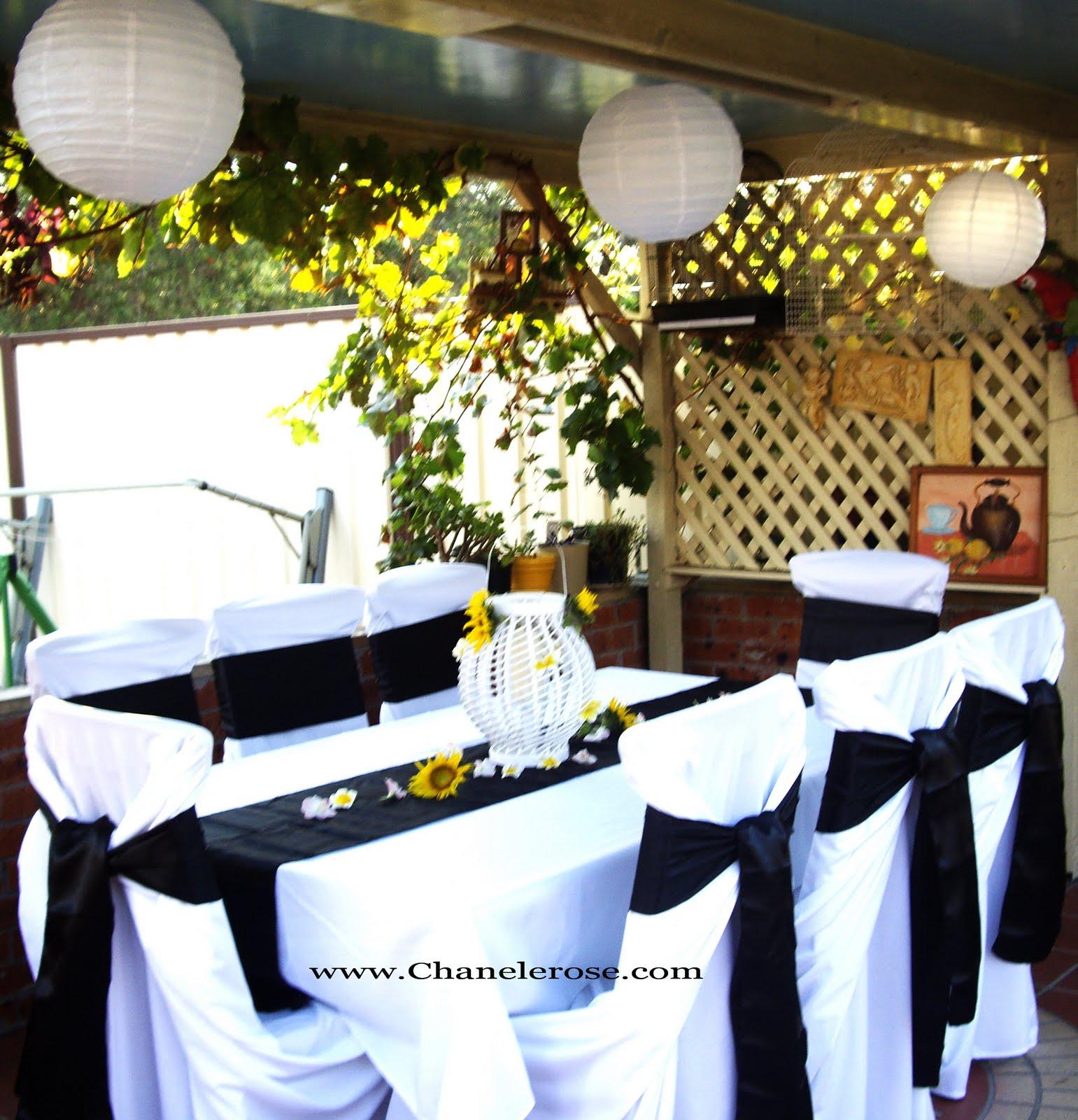 Party Decorations Halloween: Chanele Rose Flowers Blog- Sydney Wedding Stylist