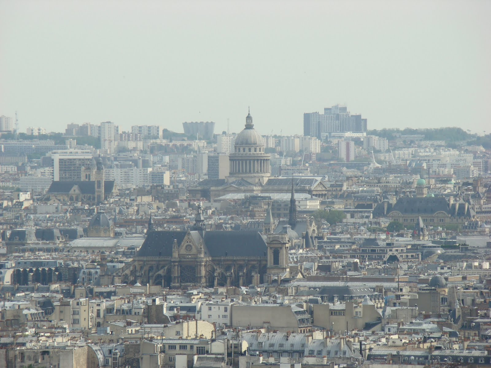 Photos-Panoramique-Paris-France-Tour-Eiffel-Sacre-Coeur-Montparnasse-Ciel-Institut-Monde-Arabe