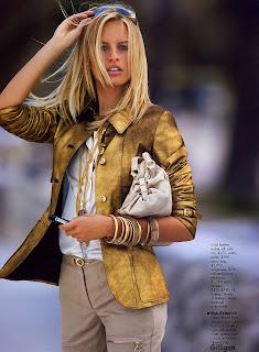 Please do not feed models: Karolina Kurkova | Elle May 2005