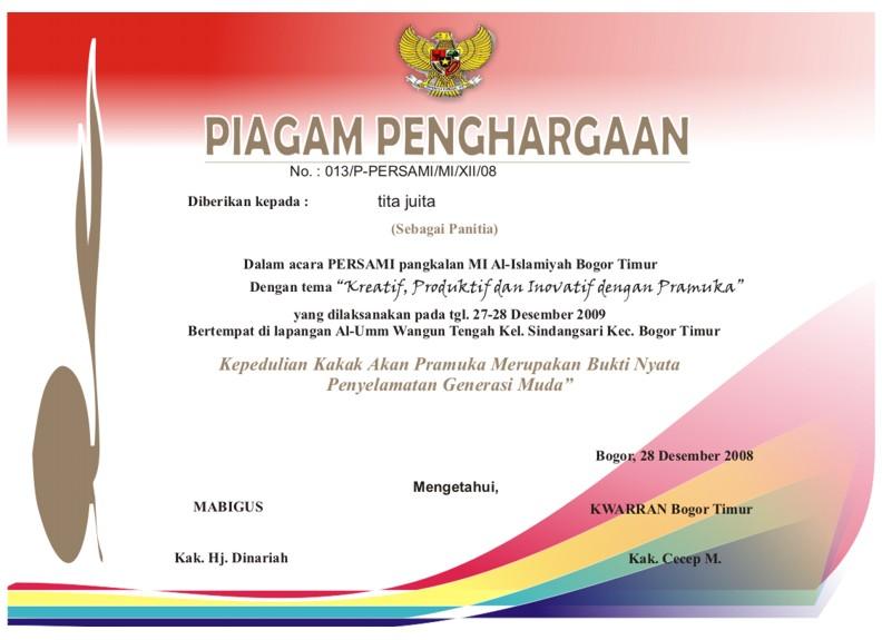 deahmed.blogspot.com: Piagam Pramuka