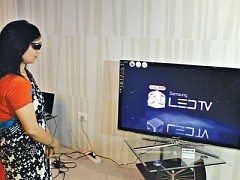 Samsung 3D Television in Nepal