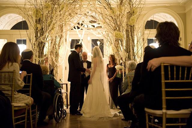 Indoor Ceremony Inspirations: Chandelier Events Blog: Inspiration For Weddings, Events