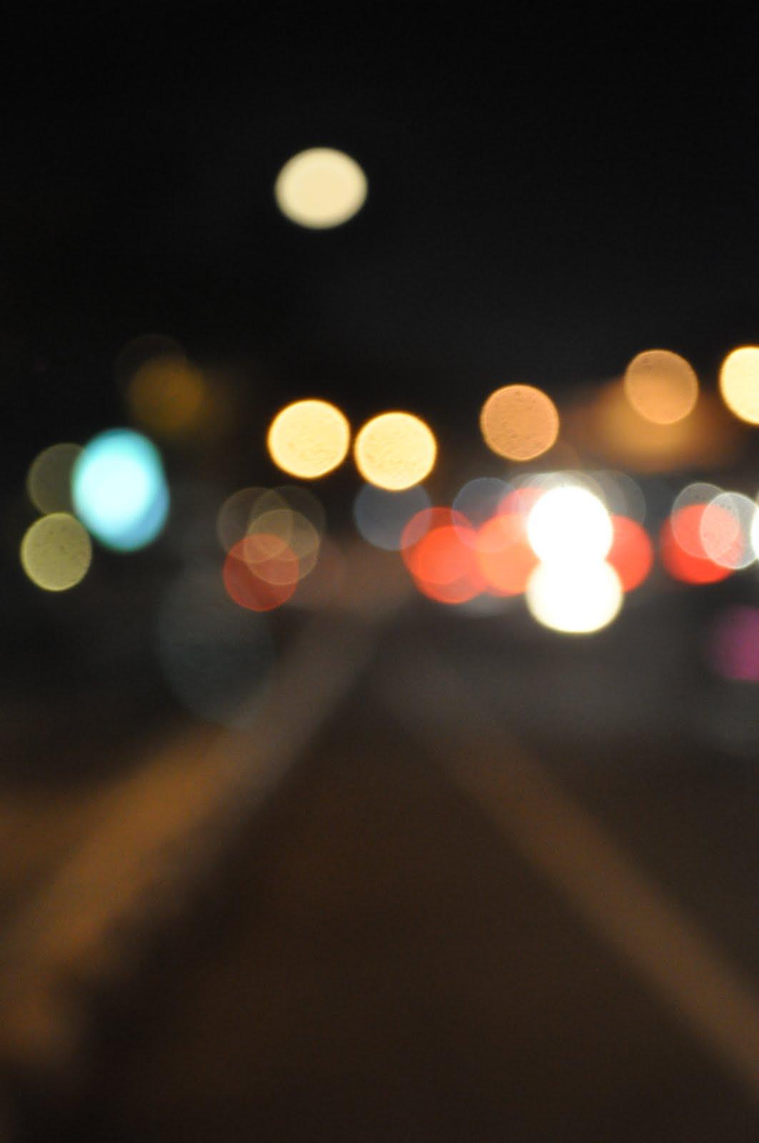 Gambar Kota Malam Hari Blur
