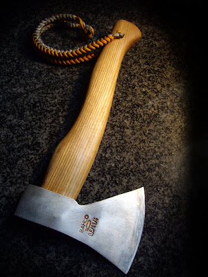 All Things Bushcraft Aesthetic Axe Lanyard 2 Tone Paracord