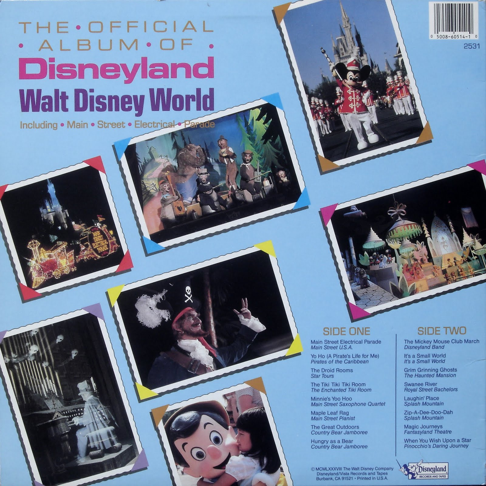 Disney Vacation Kingdom: Theme Park Records