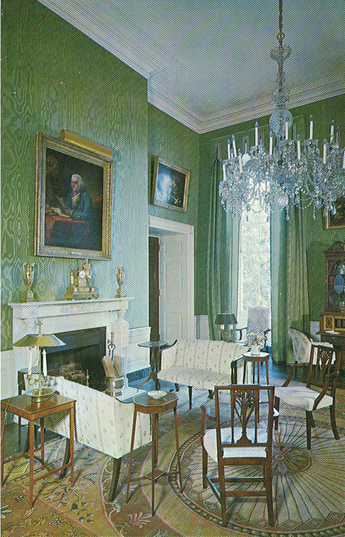 Room And House Decor Pictures: Vintage Travel Postcards: The White House
