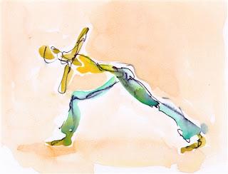 zakar artchris carter yoga asana parivritta