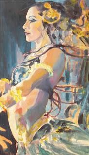 Portrait of bellydancer