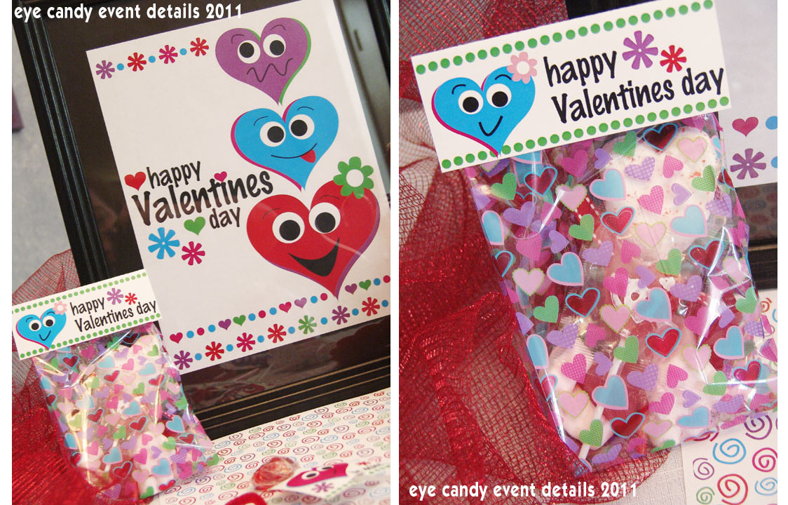 Eye Candy Creative Studio Kids Classroom Valentines Day