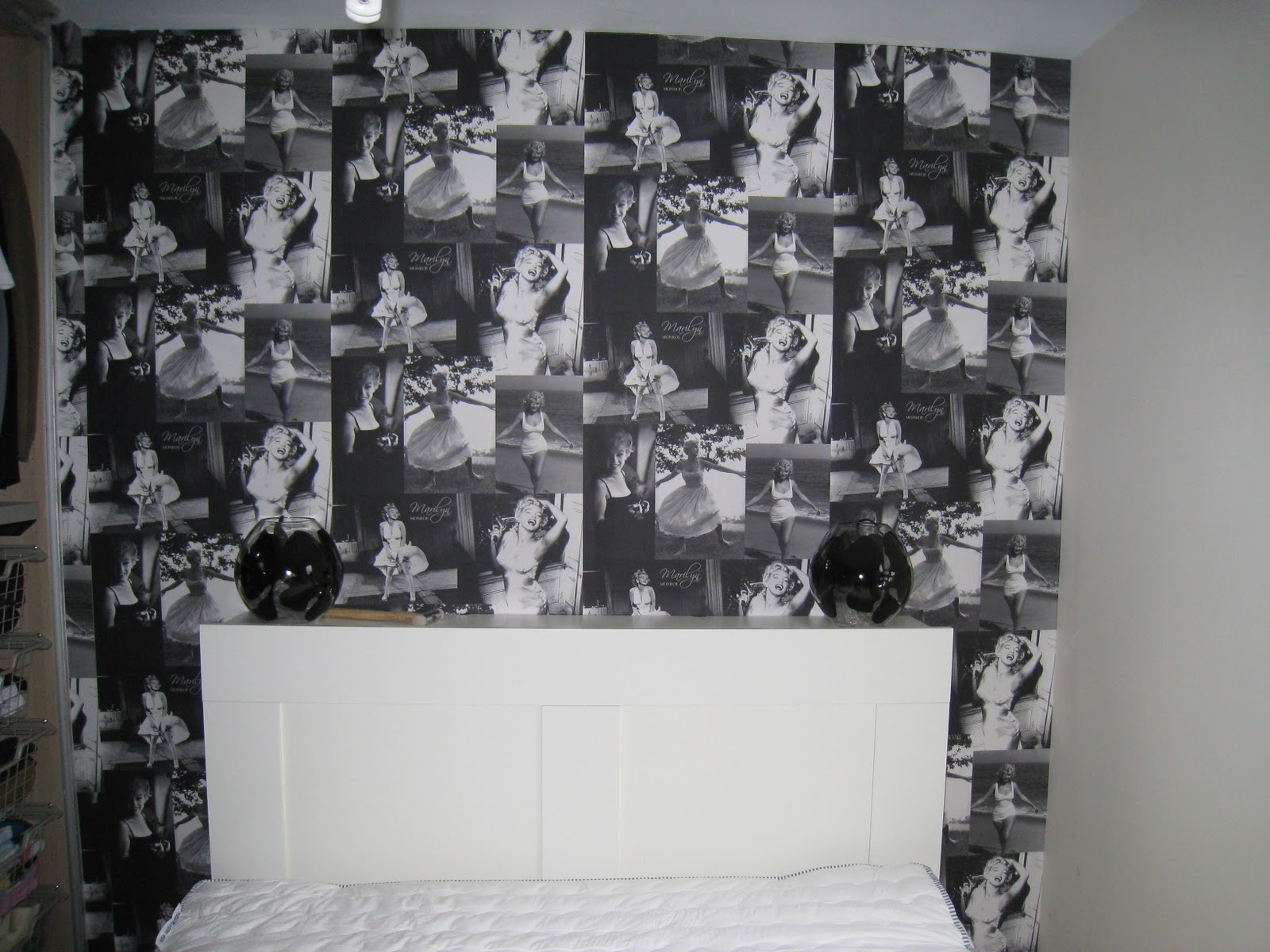 Top Photo Of Marilyn Monroe Wallpaper For Bedroom Virginia Howell