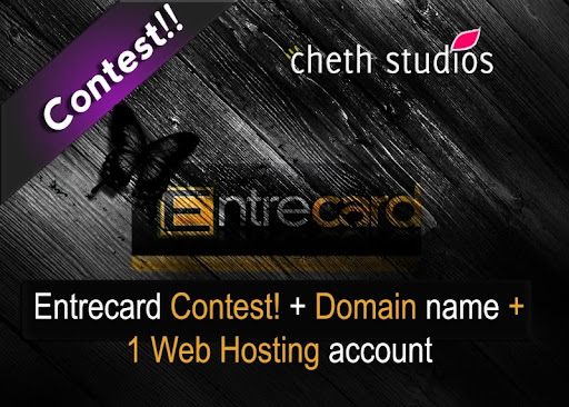 Cheth Studios - Entrecard Contest and  Win Free Domain and Web Hosting
