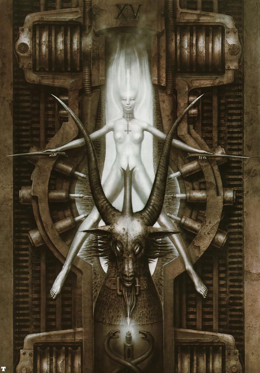 church street energy system: Satanic High Priest, H R  Giger