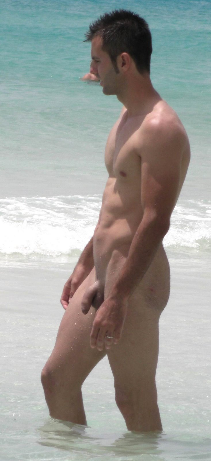Spy Cam Dude Sexy Guy Naked At The Beach-6036
