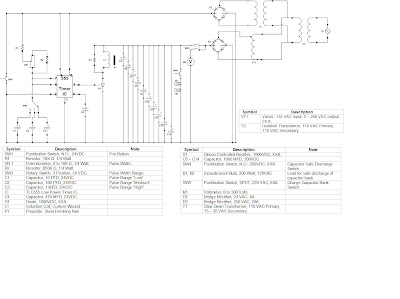 Scanman's Coil Gun Learnings: Schematic, proposed circuit