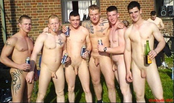 Football Lads Naked