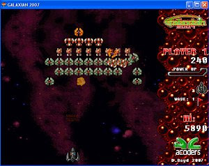 Galaxian 2007 - Free PC Gamers - Free PC Games