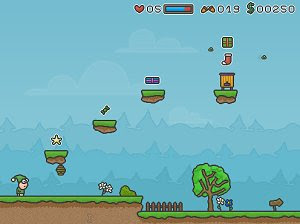 Elf Elfonsinio 2 free action platformer game