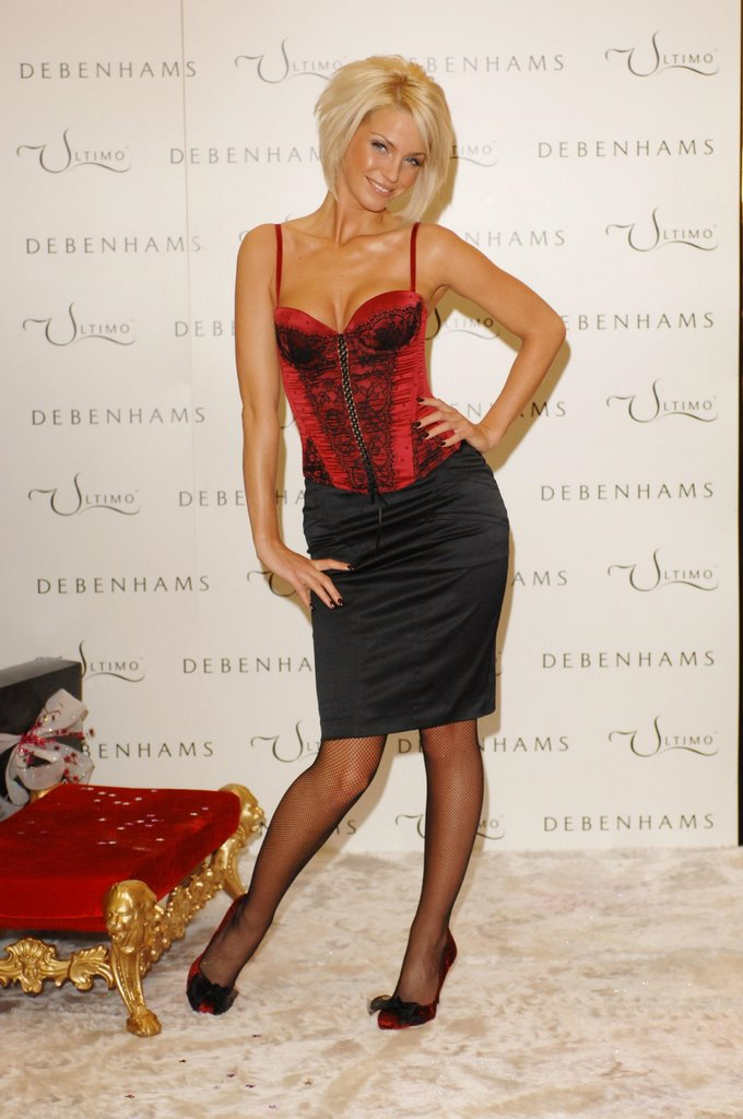 Sarah Harding In Fishnets