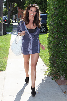Charisma Carpenter Leggy Candids