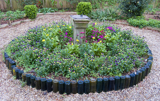 Repurposed And Recycled Creative Ideas For Garden Design