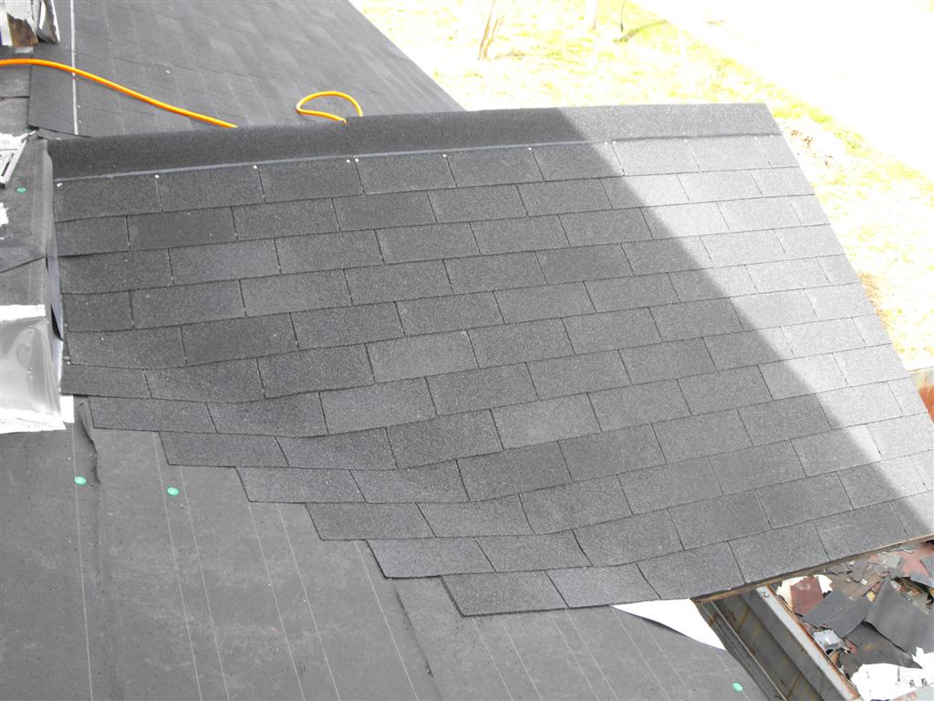 AycockMorgan House Shingling the front porch roof – How To Shingle A Roof With 3 Tab